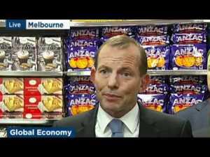 Tony Abbott Anzac biscuits