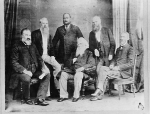 Australia's colonial leaders after opium binge