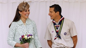 Bear Grylls Kate Middleton